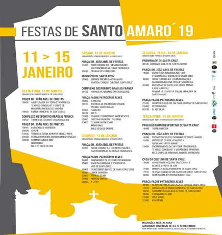 Festas de Santo Amaro - events January