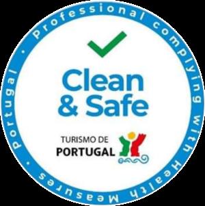 Professionals Clean & Safe insignia.