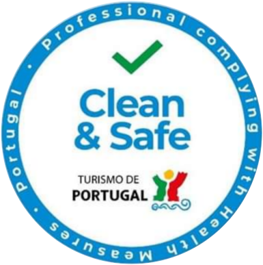 Professionals Clean & Safe insignia.